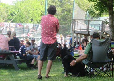 Fans Take in the Action from the Grove at Lowell Park