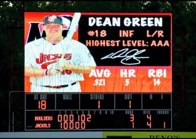 Yogi Berra Stadium Video Board
