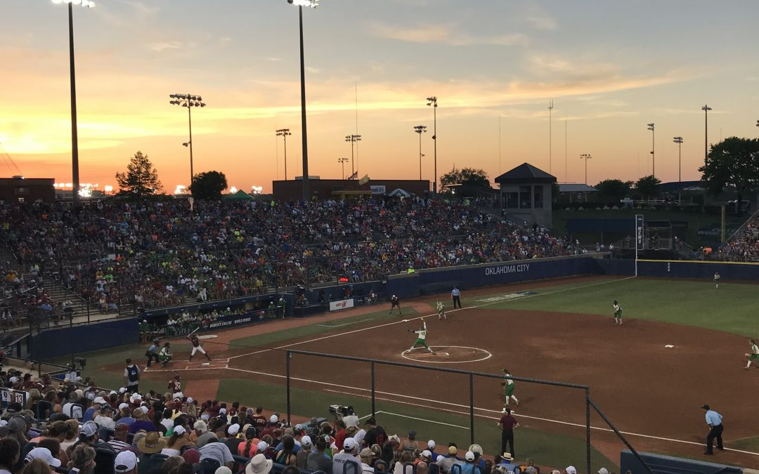 OGE Energy Field at the USA Softball Hall of Fame Complex – Womens College World Series