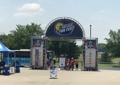 OGE Energy Field at the USA Softball Hall of Fame Complex, Shuttle Drop-off at Fan Fest