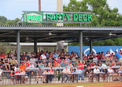 Luther Williams Field Party Deck