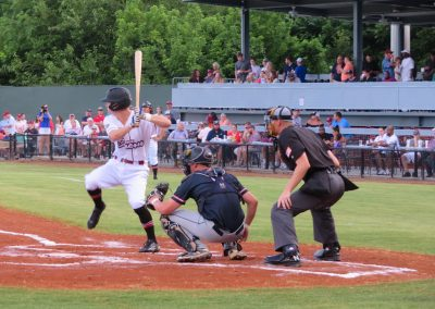 Bacon At Bat at Luther Williams Field