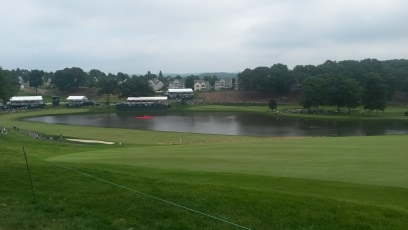 Water Hazard at TPC River Highlands