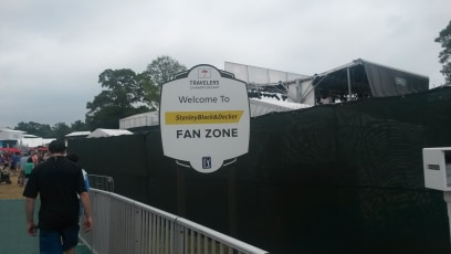 Fan Zone at TPC River Highlands