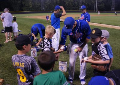 Chaska Athletic Park Autographs