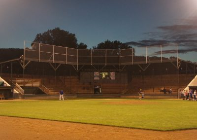 Chaska Athletic Park at Dusk