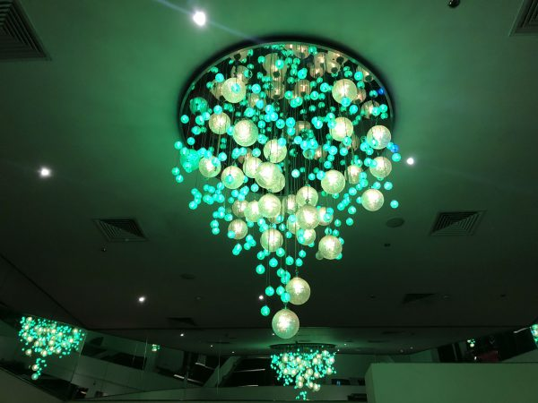 Chandalier In Players Lounge