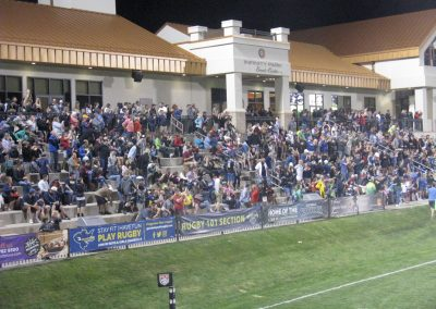 Glendale Raptors Fans Fill the Stands at Infinity Park