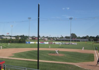 Paul Walsh Field from Third Base Stands