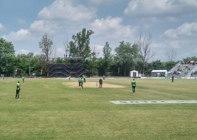 Game Action at Maple Leaf Cricket Club
