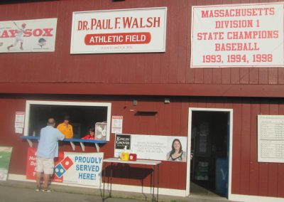 Paul Walsh Field Snack Bar