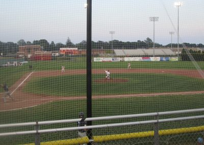 Game Action at Paul Walsh Field