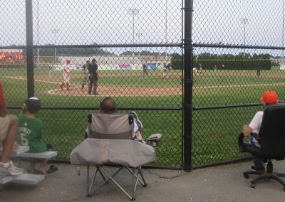 Best Seat in the House at Paul Walsh Field