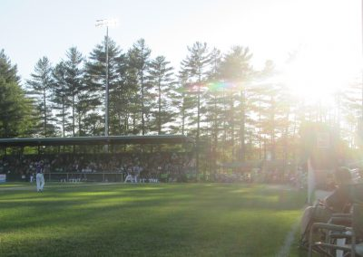 Sunset at Alumni Field