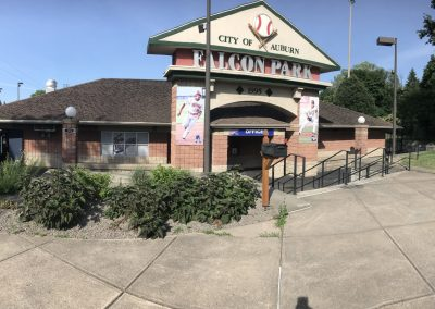 Leo Pinckney Field at Falcon Park, Front Offices and Ticket Booth