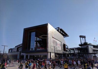 Outside Of Audi Field Opening Day