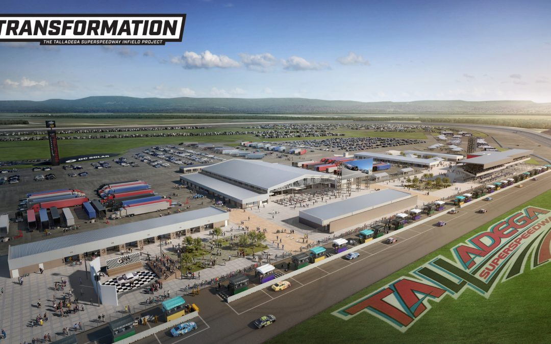 Talladega Superspeedway Announces Infield Overhaul