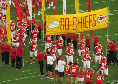 Chiefs Take the Field