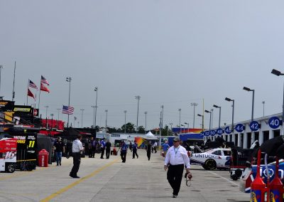 Daytona International Speedway, Walking through the Paddock
