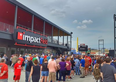 Impact Field Flash Entrance