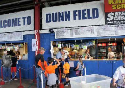 Dunn Field Concession Booths