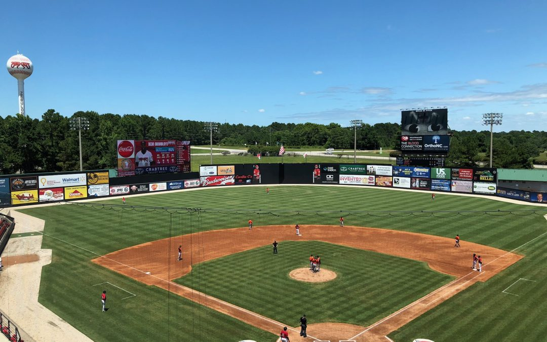 Five County Stadium – Carolina Mudcats