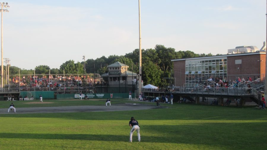 Game Action at Spillane Field