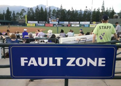 Now Entering The Fault Zone