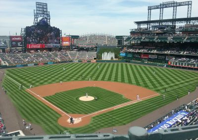 Coors Field Interior