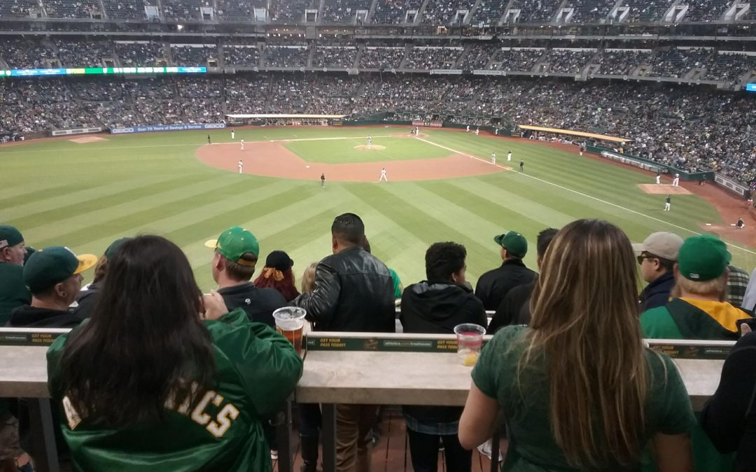 Doubleheader…Catching Oakland A's President Dave Kaval, Part One