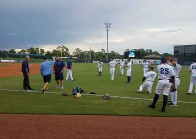 Charlotte Sports Park, Charlotte Stone Crabs Player Warmups