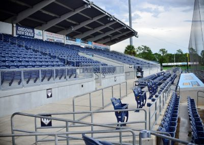 Charlotte Sports Park Left Field Seating