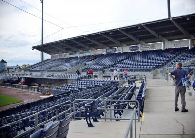 Charlotte Sports Park Main Seating