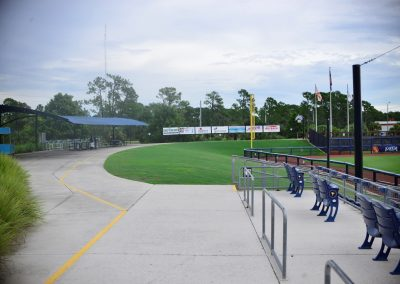 Charlotte Sports Park Outfield Berm Seating