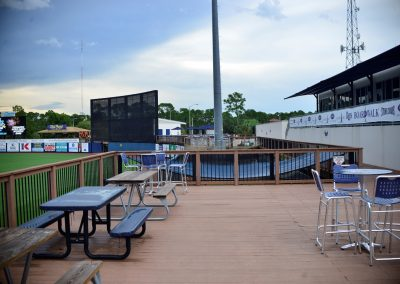 Charlotte Sports Park Outfield Boardwalk
