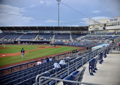 Charlotte Sports Park, View from Left Field Seating