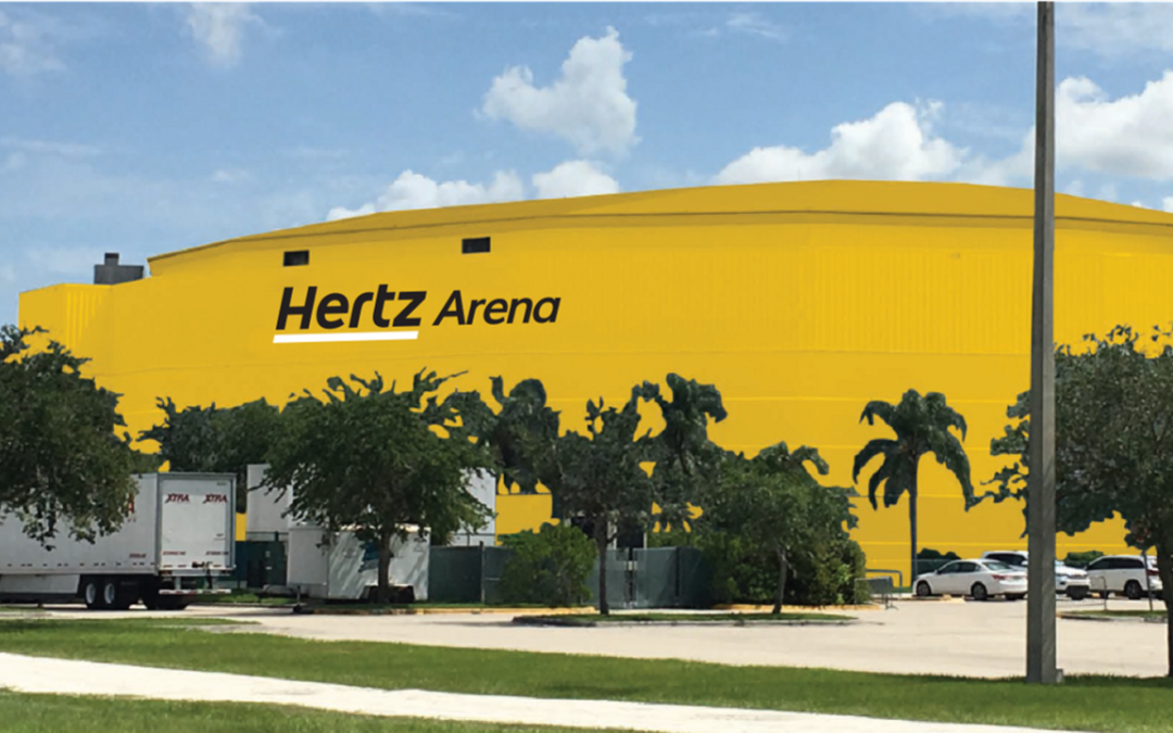 Hertz Arena Naming Rights Announced