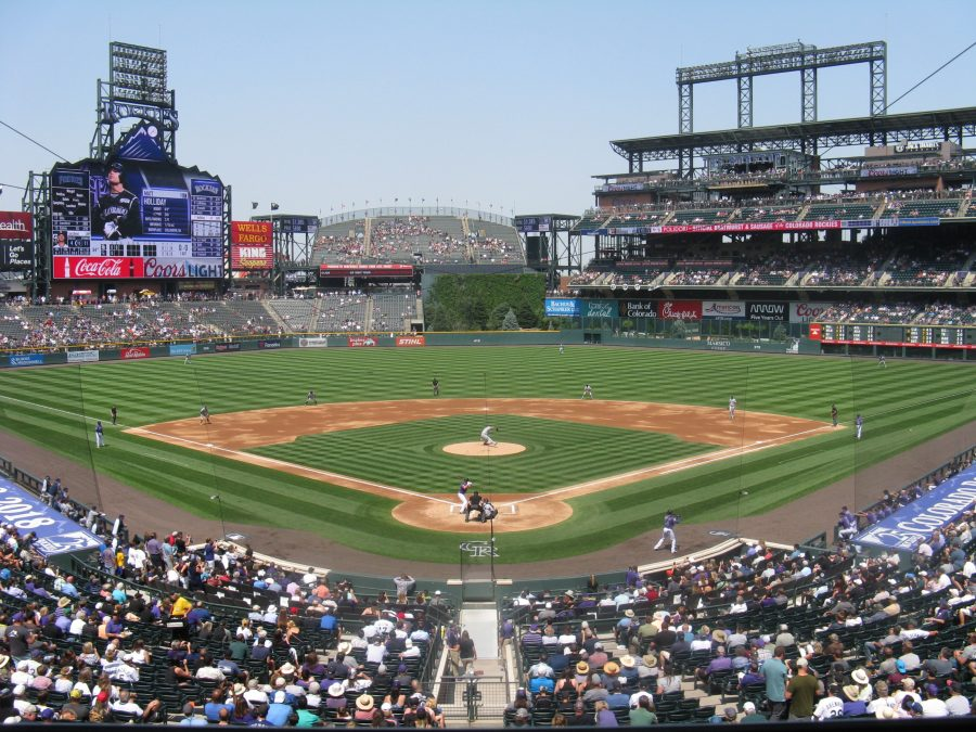 Coors Field - View from Behind Home