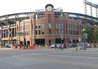 Coors Field Main Entrance - 20th and Blake