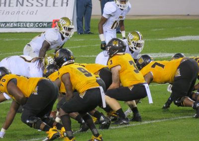 QB Gets Low Over Center