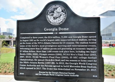 Site of the Former Georgia Dome