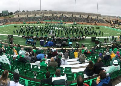 Apogee Stadium, Noth Texas' Green Brigade Marching Band Halftime Performance