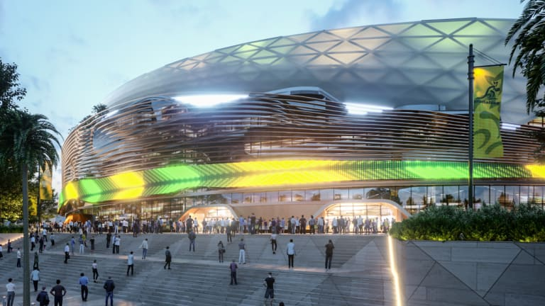 First Images Released for New Sydney Football Stadium