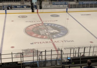 Havoc and Chargers Ice Markings