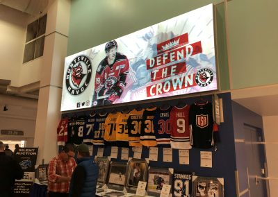 Havoc Sign And UAH Silent Auction Items