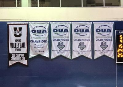 Championship Banners at Coca-Cola Court