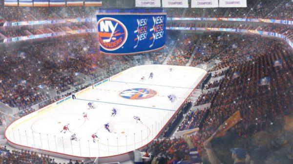 Rendering of the Belmont Park Arena