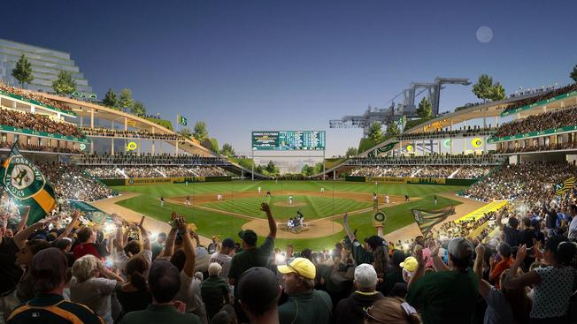 Oakland A's New Ballpark Pushes the Envelope