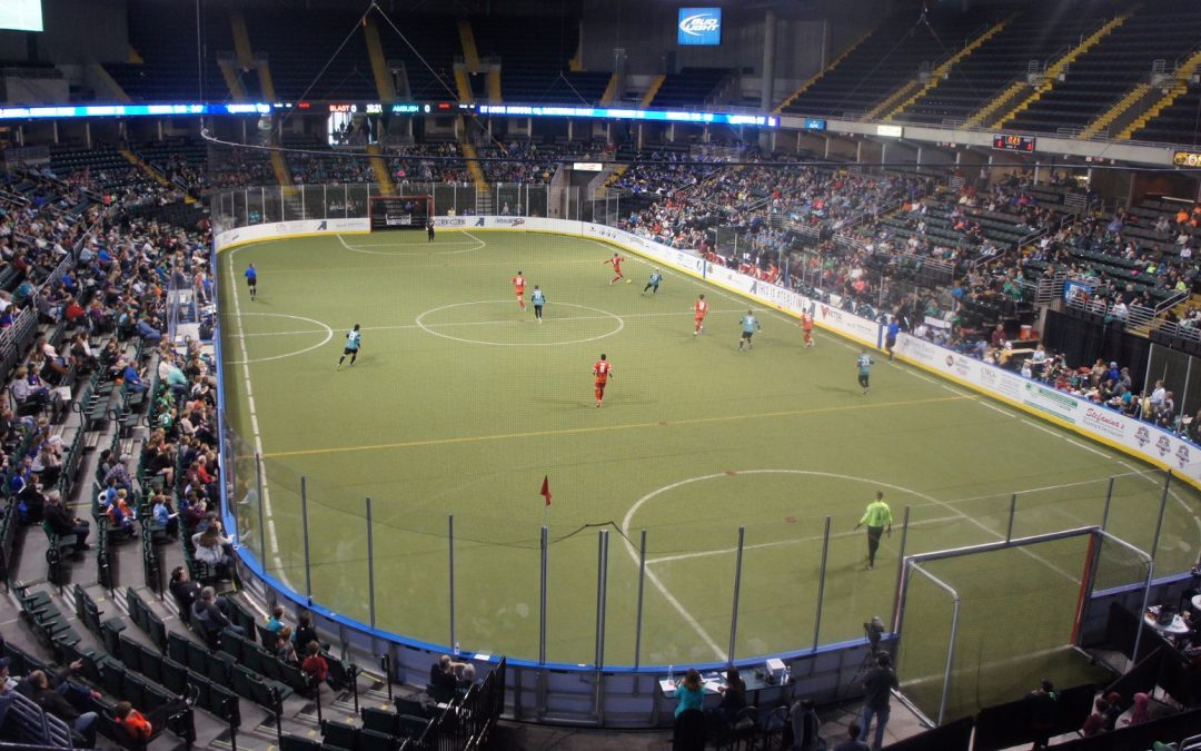 The Arenas of the Major Arena Soccer League