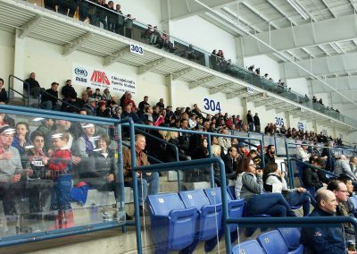 Fans at Fox Valley Ice Arena
